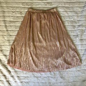 Mango Gold Skirt